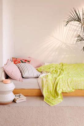 Neon Geo Bed Blanket