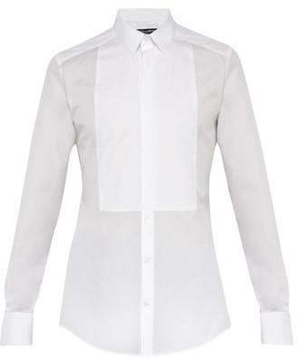 Dolce & Gabbana Cotton Poplin Formal Shirt - Mens - White