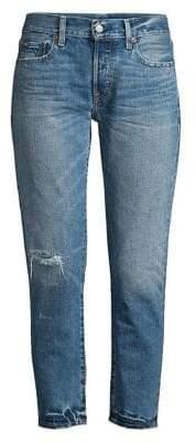 Polo Ralph Lauren Ripped Boyfriend Jeans