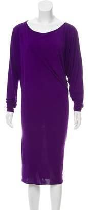 Lanvin Oversize Midi Dress