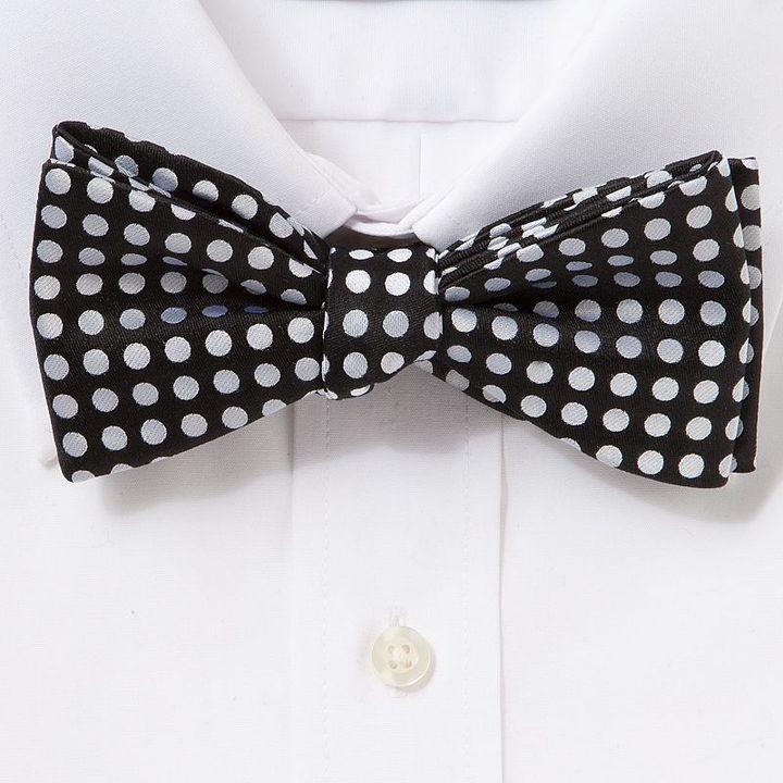 Croft & barrow® mod dot self-tie bow tie
