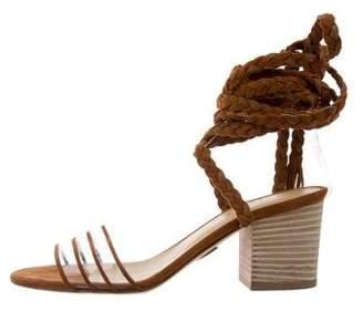 Ritch Erani NYFC PVC Wrap-Around Sandals w/ Tags