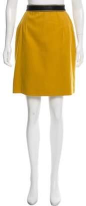 Genny Wool Knee-Length Skirt