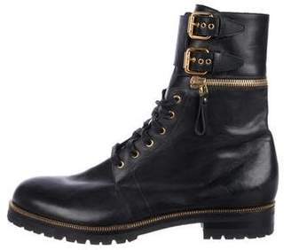 Sergio Rossi Convertible Leather Boots