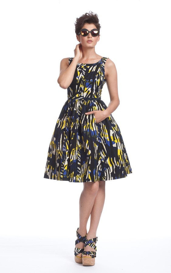 Tracy Reese Taped Frock