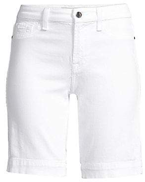 7 For All Mankind Jen7 by Women's Bermuda Denim Shorts