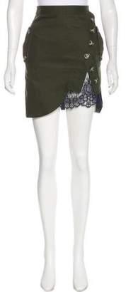 Self-Portrait Utility Mini Skirt w/ Tags