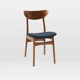 west elm Classic Café Dining Chair - Upholstered