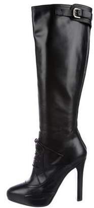 Ralph Lauren Platform Knee-Length Boots