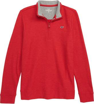 Vineyard Vines Quarter Zip Sweater