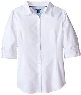 Tommy Hilfiger Solid Oxford Shirt Girl's Clothing