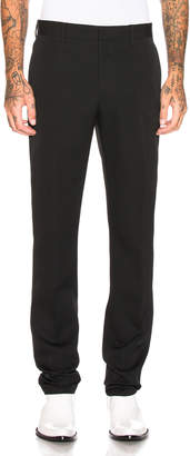 Calvin Klein Wool Gabardine Uniform Pant