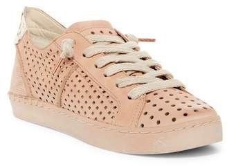 Dolce Vita Zain Perforated Nubuck & Genuine Calf Hair Sneaker
