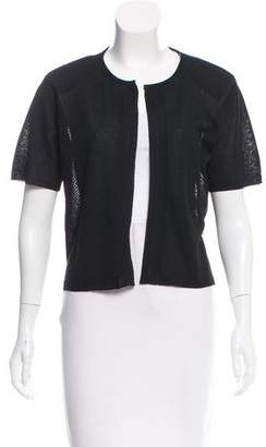 Dries Van Noten Structured Open Front Cardigan