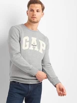 Gap Logo Fleece Crewneck Pullover Sweatshirt