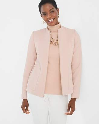 Chico's Chicos Textured Knit Jacket