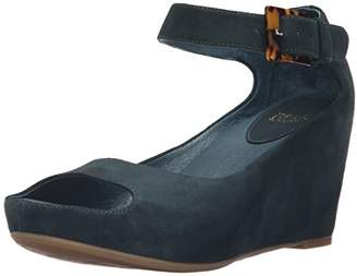 Johnston & Murphy Women's Tricia Ankle Strap Wedge Sandal