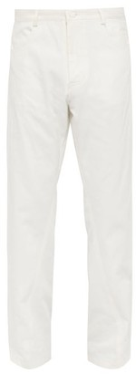 Bianca Saunders - Loose Fit Jeans - Mens - White