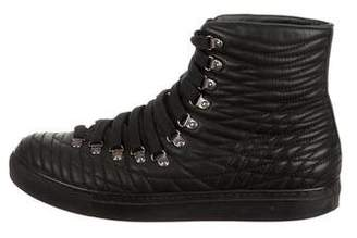 Givenchy Quilted High-Top Sneakers