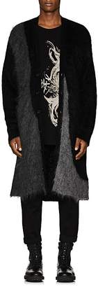Yohji Yamamoto Men's Oversized Mohair-Blend Cardigan