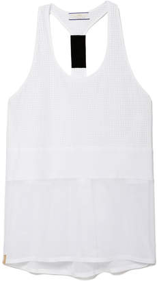 Monreal London Perforated Racerback Tank Top
