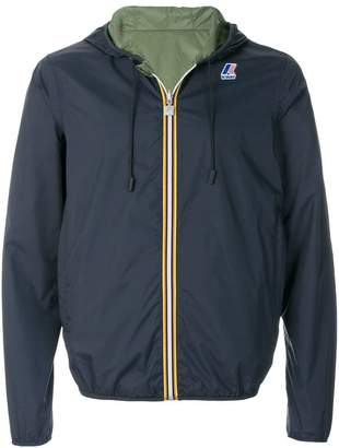 K-Way hooded jacket
