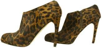 LK Bennett Pony-style calfskin ankle boots