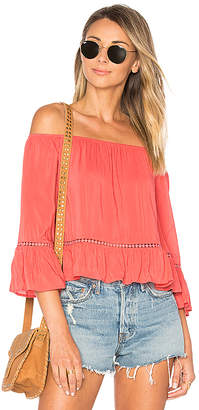 ale by alessandra Fernanda Top in Coral $138 thestylecure.com