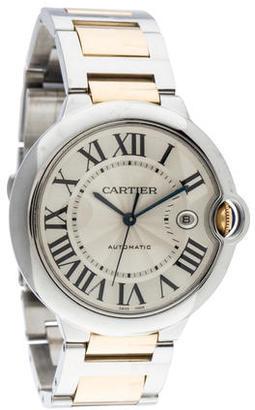 Cartier Ballon Bleu Watch $5,795 thestylecure.com