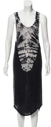 Raquel Allegra Tie-Dye Midi Dress