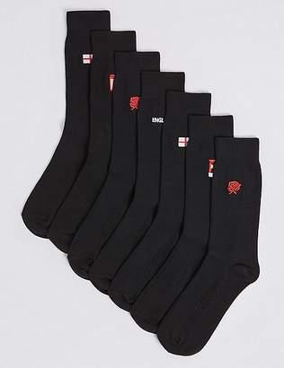 Marks and Spencer 7 Pack England Design FreshfeetTM Socks