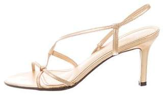 Lauren Ralph Lauren Leather Multi-Strap Sandals