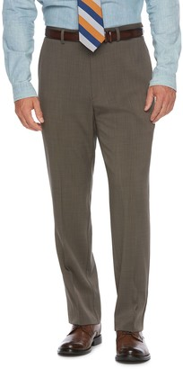 Chaps Men's Classic-Fit Performance Flat-Front Dress Pants