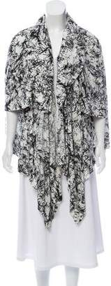 Bernhard Willhelm Draped Printed Cardigan