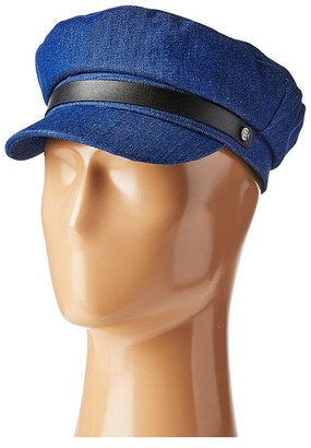 BCBGMAXAZRIA - Chambray Newsboy Caps $28 thestylecure.com