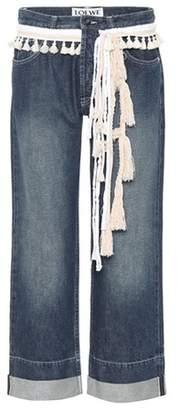 Loewe Cropped straight-leg jeans