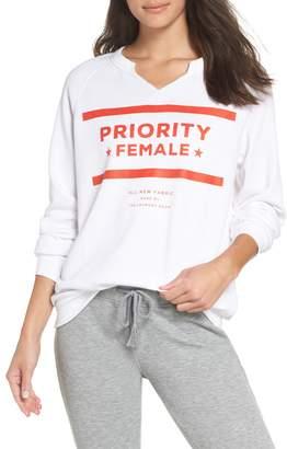The Laundry Room Priority Female Sweatshirt