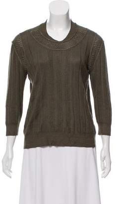Louis Vuitton Long Sleeve Knit Sweater
