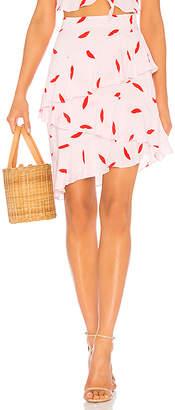 LPA Asymmetric Ruffle Skirt
