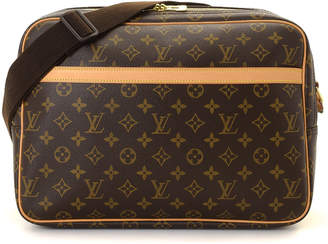 Louis Vuitton Monogram Reporter MM Crossbody Bag - Vintage