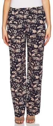 CeCe Ivy Forest Soft Wide Leg Pants