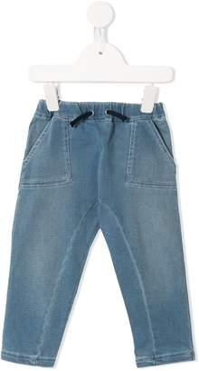 Emporio Armani Kids drawstring waist jeans