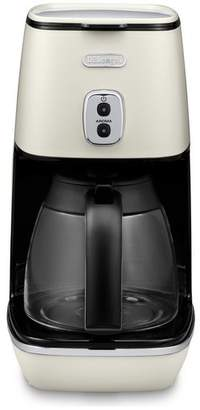 De'Longhi Distinta Filter Coffee Machine - White