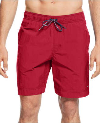 Tommy Hilfiger Big and Tall Men's Tommy Swim Trunks $65 thestylecure.com