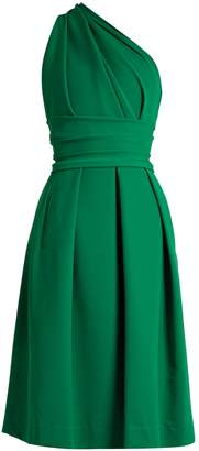 Preen by Thornton Bregazzi Athena one-shoulder stretch-cady dress
