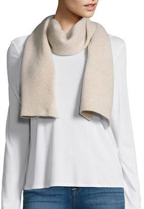 Portolano Honeycomb Cashmere Knit Scarf $135 thestylecure.com