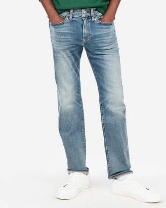 Express Slim Medium Wash Hyper Stretch Jeans