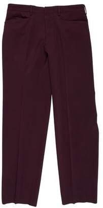 Prada Flat Front Dress Pants
