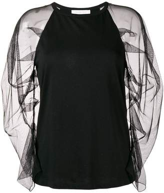 See by Chloe sheer halter blouse