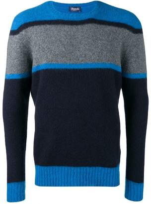 Drumohr colour-block jumper